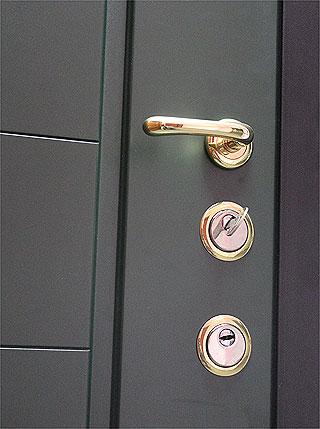 Maniglia porta blindata