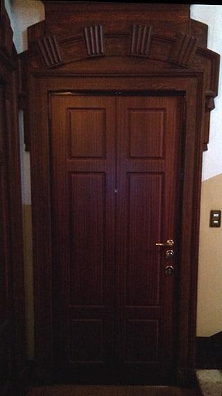 Porta blindata installata a Milano